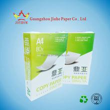 Cheap 100% woodfree multi-function A4 white copy paper