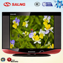 latest design Uganda PVOC cheap flat screen tv with CO FCC CIQ SONCAP certificate