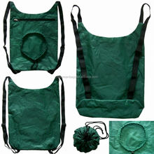 Integrated drawstring bag design wholesale draw string sports bags with zipper FSS