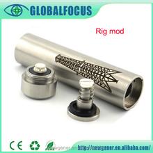Hight Quality Wholesale factory 18650 Rig mod mechanical mod