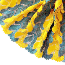 Best se;;ing high quality Water soluble multi color guipure african african lace fabric for wedding dress