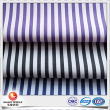 Carbon Peach finish 100 cotton black white stripe fabric for shirt