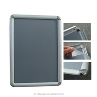 manufacture 25mm profile aluminum snap frame poster holder