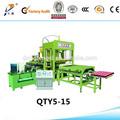 Qt5-15a tijolo ecológico modular tijolo / máquina para a fabricação de paletes / pré moldado moldagem de concreto