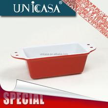 UNICASA Stock Cake mould Ceramic Bakeware Loaf pan