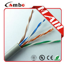 Made In China Best Price UTP Cat5e Lan Cable 1000ft/Roll Bare Copper Free Shipping !!!