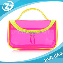 Clear Plastic Cosmetic Bags With Handle for Traveling