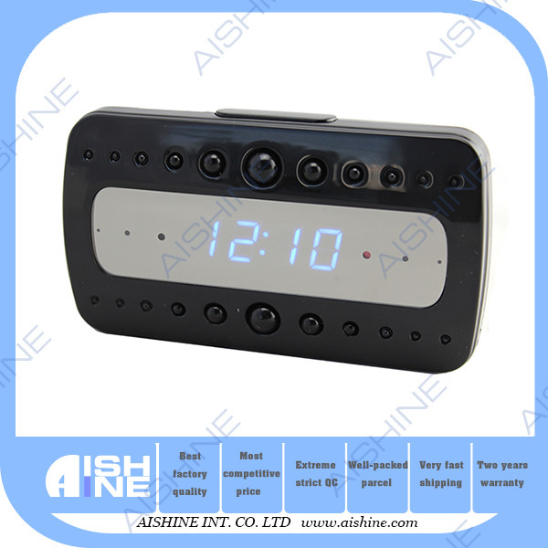 wifi protection hidden camera wifi 1080p alarm clock radio covert ir camera. Black Bedroom Furniture Sets. Home Design Ideas
