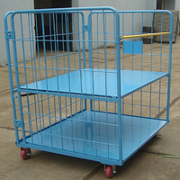 Logistics Cart/Rolling Security Cage/Metal Cage Storage Container