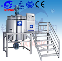 De alta calidad jbj-1000l líquido desinfectante de la mano que hace la máquina de acero inoxidable del tanque de la mezcla