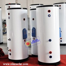 solar insulated storage water tank for boiler and solar heater