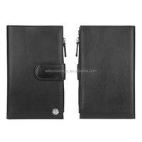 Men Wallet 2014 New Genuine Leather Brand Wallets credit Mix Color Card holder Coin Purse Pockets made in China