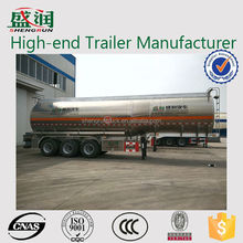 2015 new brand china widely used stainless steel large capacity fuel / oil / diesel tanker for sale