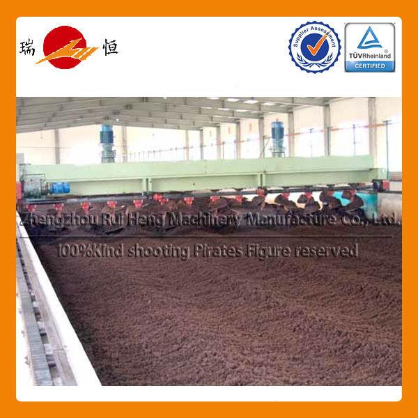 Ruiheng Mobile Compost turner machine for Organic Ferilizer