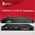 Digital catv modulador ; 4 hdmi a modulador rf