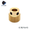 wheel brass 3D printer extrusion head extruder gear
