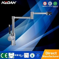 New design lead free single handle kitchen Pot Filler faucet with foldable spout