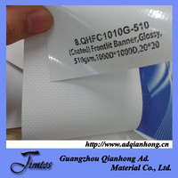 PVC glossy coated flex pana for Eco solvent/solvent printing