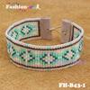Fashionme fast shipping handmade handband seed bead bracelet