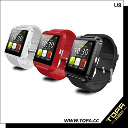 sport and health wrist watch phone dual sim for ios