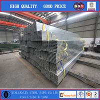 Supplier Pre galvanized square steel pipe/Manufacturer pre galvanized tubing/The low price of galvanized tube/pipe