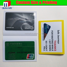 New brand blank visa credit cards holder with great price