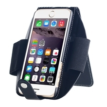 Unique Leather Armband Phone Case with One Card Slot for iPhone
