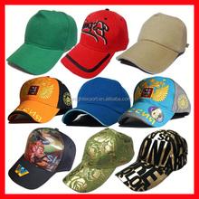 Custom promotional printing or embroidery logo cotton baseball cap