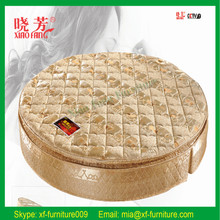 Latest design factory price foldable round bed prices, bedrooms with round bed