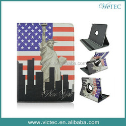 Fashion New York 360 Rotary Retro Leather Case for IPAD AIR 2
