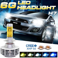 Stable Performance 3000lm Super Bright PX26D H7 LED Auto Lighting