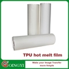 Transparent TPU Hot Melt Adhesive Film for Textile Fabric