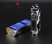 Pandoras box mod clone of variable wattage with 18650 battery clone vapor Zero V3 60w Temp control Box Mod From Geeco