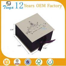 gift box custom logo printed jewelry boxes jtf