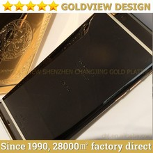 Best price for iPhone 6 black color housing with gold logo and buttons for iPhone 6 matte black body for iPhone6 black color