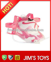 pink drinking straw hat 12819-2