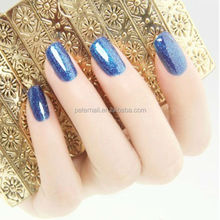 CBD High Quality Popular Color Shimmer Nail Polish Gel , Glitter Color Gel Polish