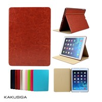 high quality leather case ultra thin style for ipad mini retro case