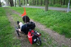 EP0CU 250W/350W/500W electric carbon recumbent bike/ trike/tricycle/rickshaw/horizontal trike/3 wheel bike or bicycle with CE