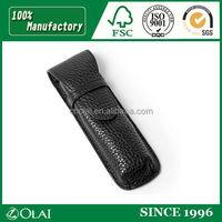 2014 novelty retro leather pen bag leather pencil case