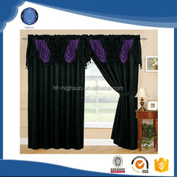 Wholesale quality 2015 lastest designs window curtain