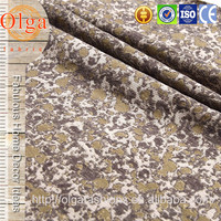 360 GSM dots shaped 100 polyester sofa fabric