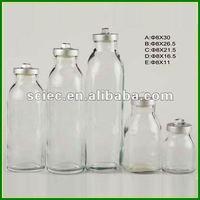White Glass Juice Bottle set