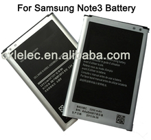High quality Battery for Samsung Galaxy Note 3 Battery, factory price for mobile accessories