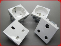Single south african wall socket, south african power plug, 10A 250v wall socket solar plug socket