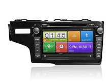 Capacitive touch screen car dvd player gps for Honda Fit GPS navigation system