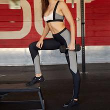 Ladies Sexy Net Panel Sport Wear Wholesale Sport Gym Wear Yoga Wear