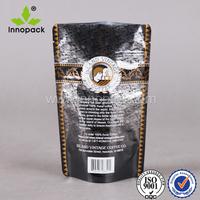 Custom unique design ldpe ziplock stand up food pouch plastic zipper bag