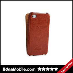 Luxury PU Folding Leather Case for iphone 4,Folio Flip Case for iphone 4