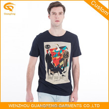 China Supplier Roll Back Sleeve Wholesale Brand t Shirt